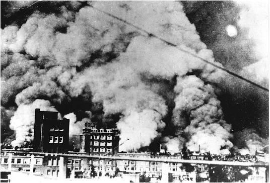 Bombardement Rotterdam
