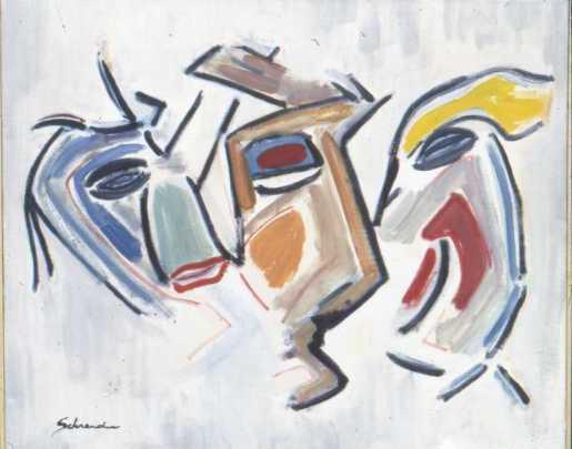 Drie koppen Max Schreuder