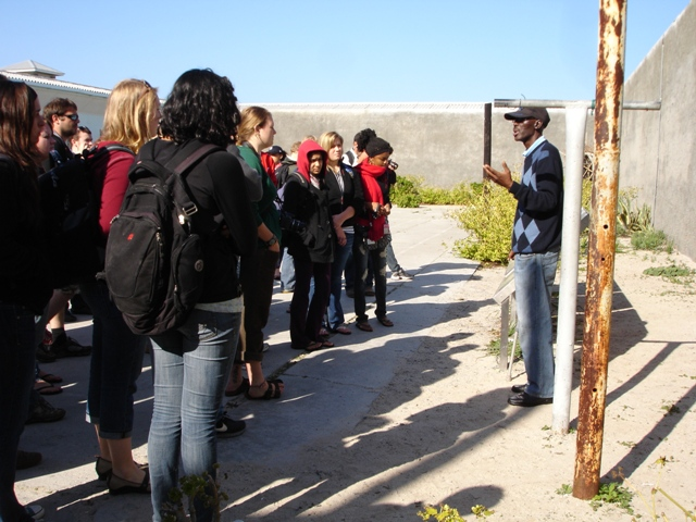 2011 Robben Island visit South Africa