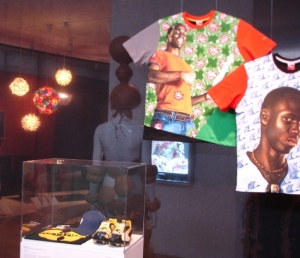 Global Africa project Kehinde Weley T shirts MAD Museum New York 2011