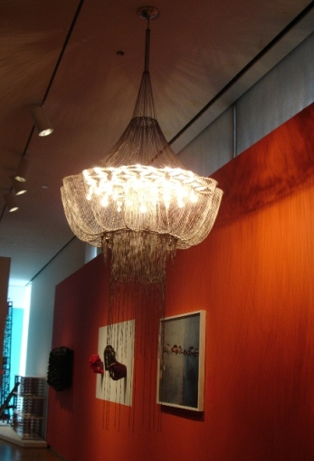 Global Africa Project lamp willowlamp Mad Museum New York 2011