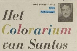 Het Colorarium van Santos
