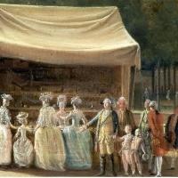 De Oranjes en Zwart verbeeld: Stadhouder Willem V met 'zijn' Cupido en Sideron