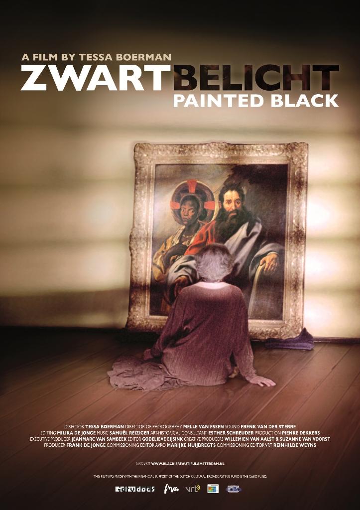 Zwart belicht Painted Black van Tessa Boerman