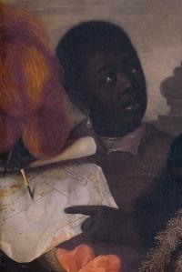 Pieter Nason detail jongen met slavenband