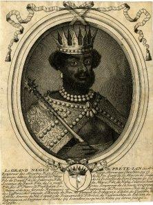 Le grand Negus, ou Pret - Ian  1655 1680  BM