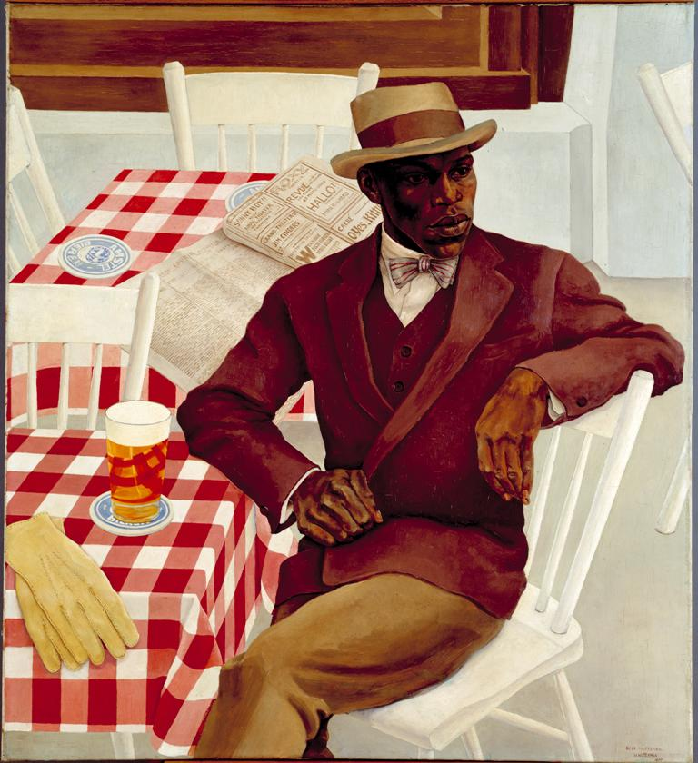 Op het terras, 1930 - 1930 Nola Hatterman, collectie Stedelijk Museum Amsterdam