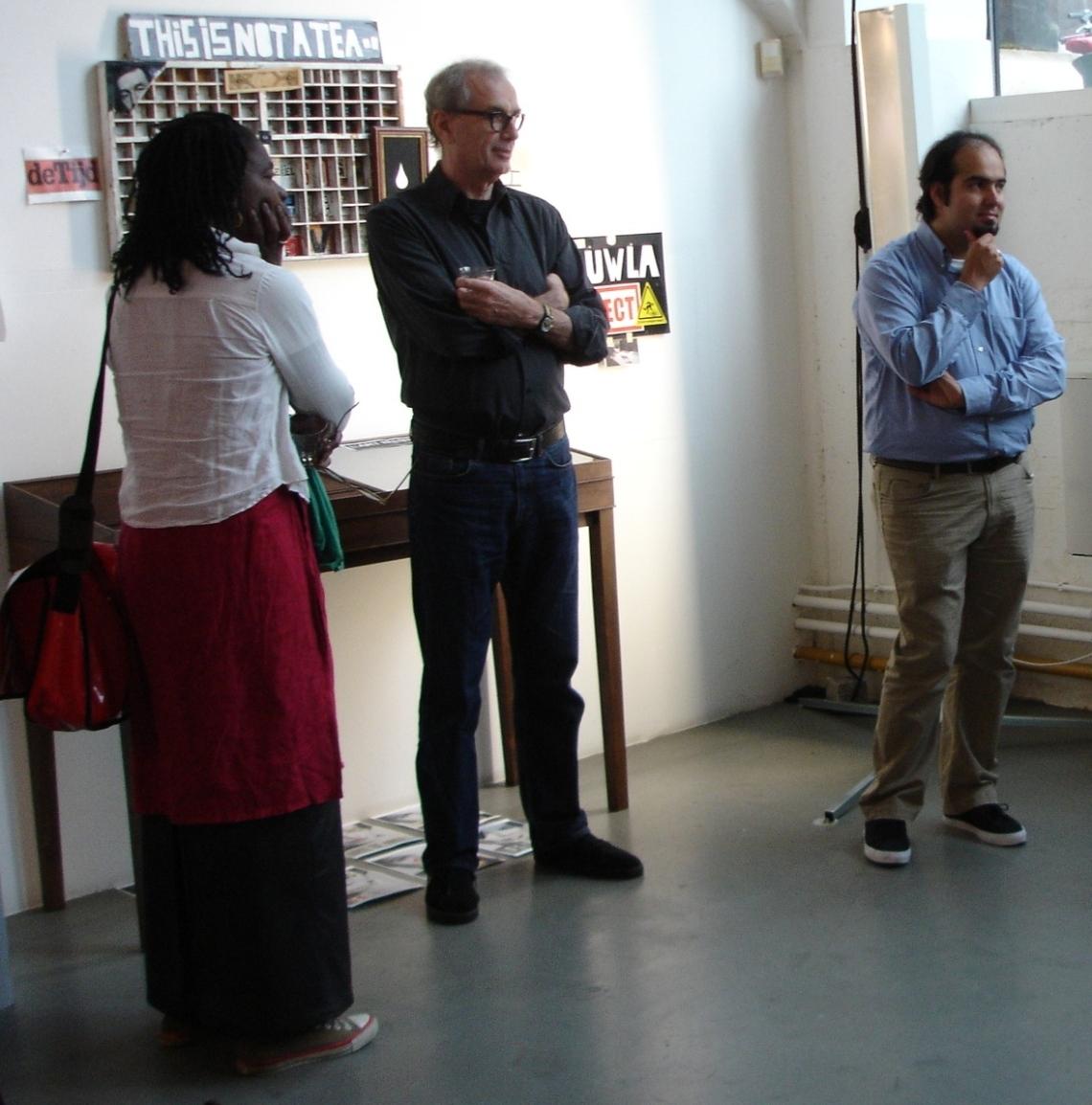 Opening Kurt Nahar tentoonstelling 11 september Amsterdam galerie 23