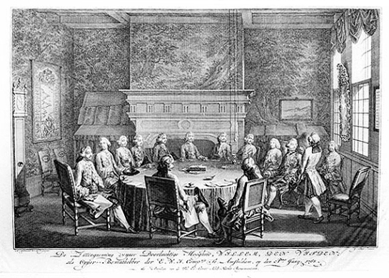 Willem V installatie WIC 1768 Fokke Simon
