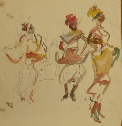 Danseressen Isaac Israels Gemeentemuseum Den Haag