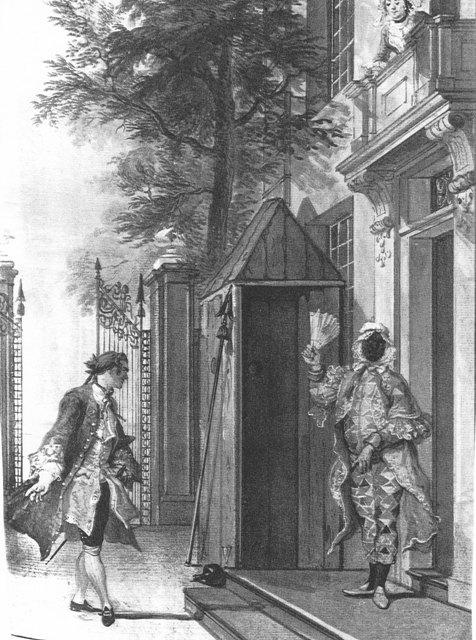 Cornelis Troost De verloren schildwacht 1745