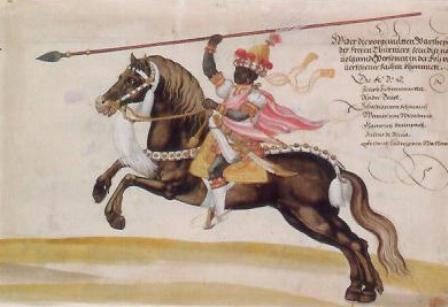 Husarisch Toernooi in morenkleding 001