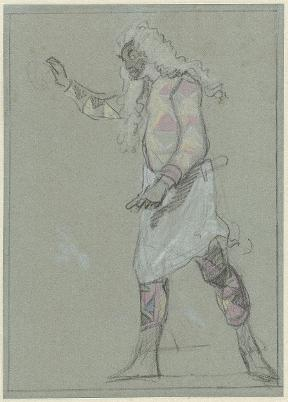 Troost Rijksmuseum Arlequin als barbier