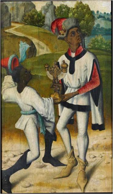 Nijmegen school Koning Balthazar ca. 1483 O/ p 40 x 24 cm Collection Rijksmuseum Amsterdam