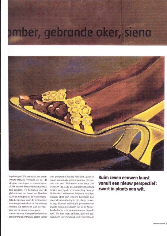 Museum tijdschrift Margriet Verhoef p 45