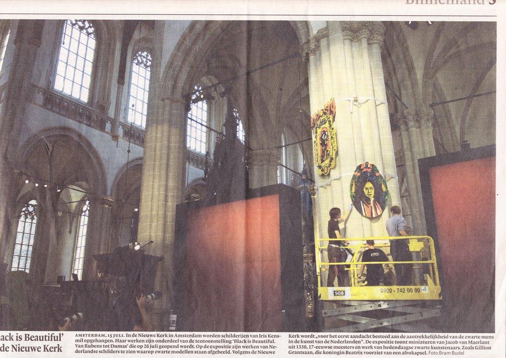 Lange Spiegel Zwart : Media and press about black is beautiful in nl en fr it pt d