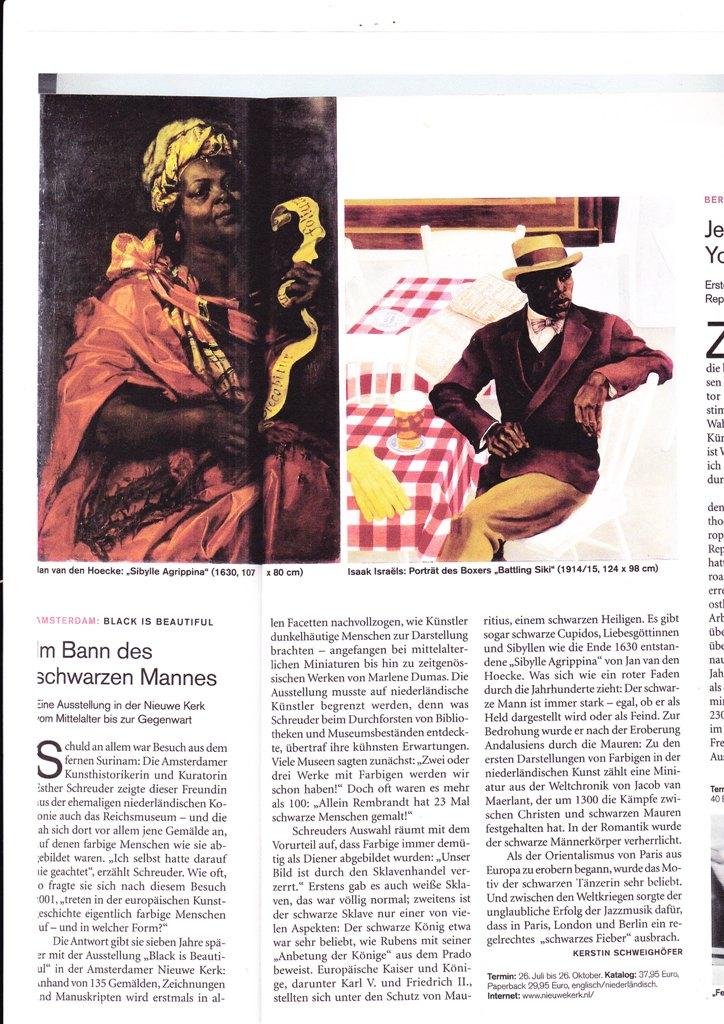 Art Das kunstmagazine nr 8 august 2008 p 84/85 Schwarzen mannes web formaat