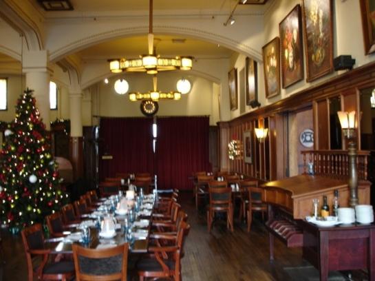 Brasserie Schiller december 2011 foto Esther Schreuder