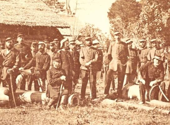 Voor-de-Kraton Tweede expeditie voor de Kraton 1880