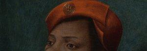 Jan Mostaert Portret van een Afrikaanse man Insigne