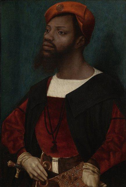 Jan Mostaert Portret van een Afrikaanse man coll Rijksmuseum Amsterdam
