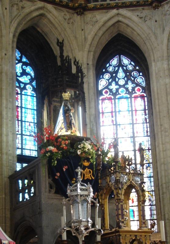 Zwarte Madonna Halle