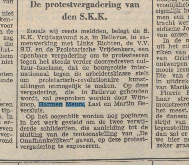De Tribune 9-3- 1933