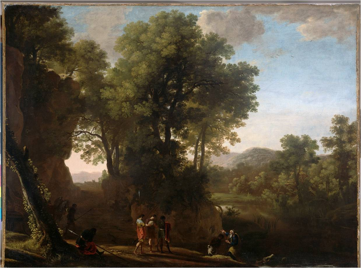 Herman van Swanevelt Landscape with the Baptism of the Chamberlain 1630 –1639 Collection Rijksmuseum Amsterdam