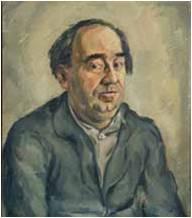 Oscar Fabrès, schilderij Frits Schiller, foto Monica Schokkenbroek