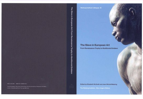 Book Cover of The Slave in European Art