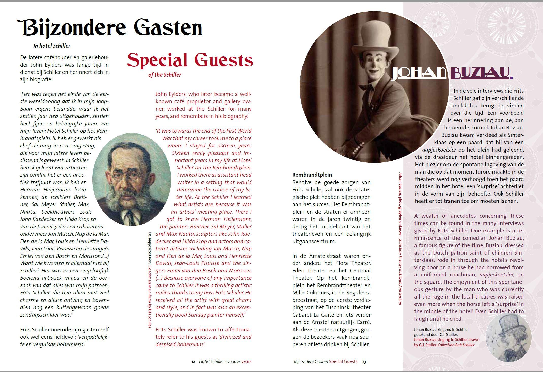 Schiller de Aapjeskoetsier en Buziau