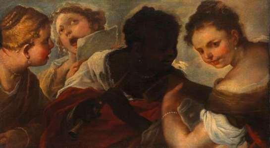 vier musicerende vrouwen collectie Rijksmuseum SK-C-1353