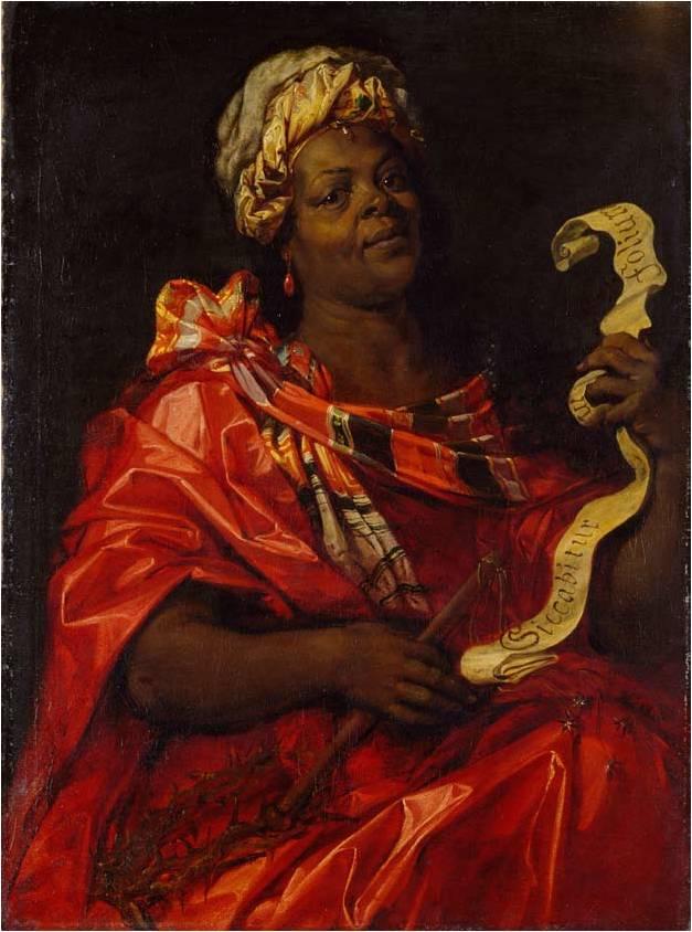 Jan van der Hoecke (toeschr.), Sibylle Agrippina. Eind 1630; olieverf op doek, 106,5 x 80,0 cm. Gemäldegalerie, Stiftung museum kunst palast.
