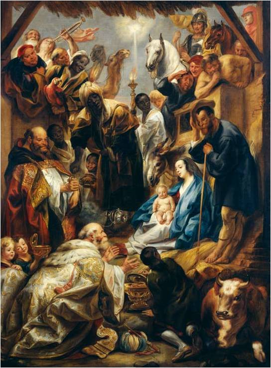 Jacob Jordaens Adoration 1644, Gemäldegalerie Alte Meister Kassel