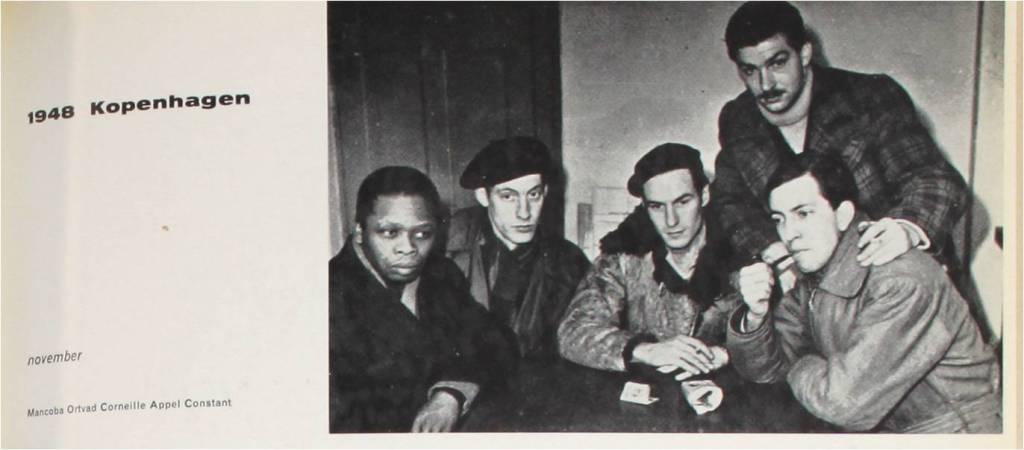 Mancoba Ortvad, Corneille, Appel en Constant 1948 Kopenhagen