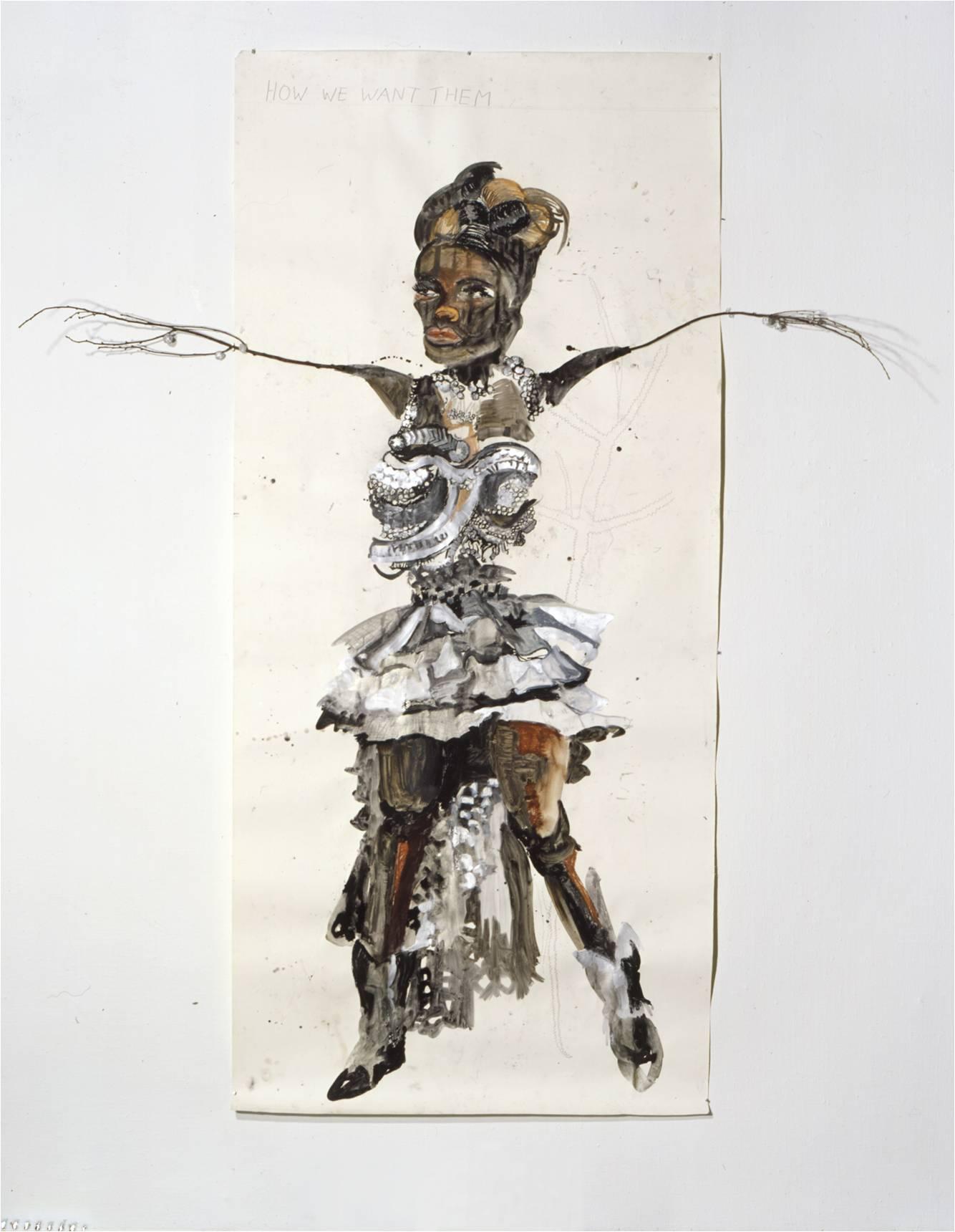 Charlotte Schleiffert, How we want them, 2000 coll Boymans van Beuningen