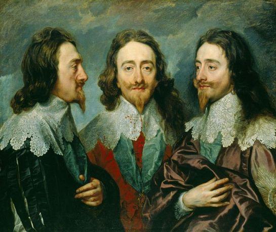 Charles I Anthony van Dyck