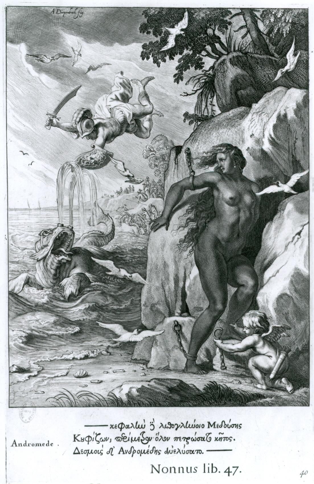 Diepenbeeck, Andromeda, engraving