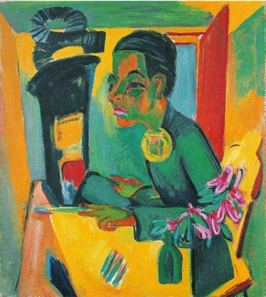 Ernst Ludwig Kirchner Zelfportret,