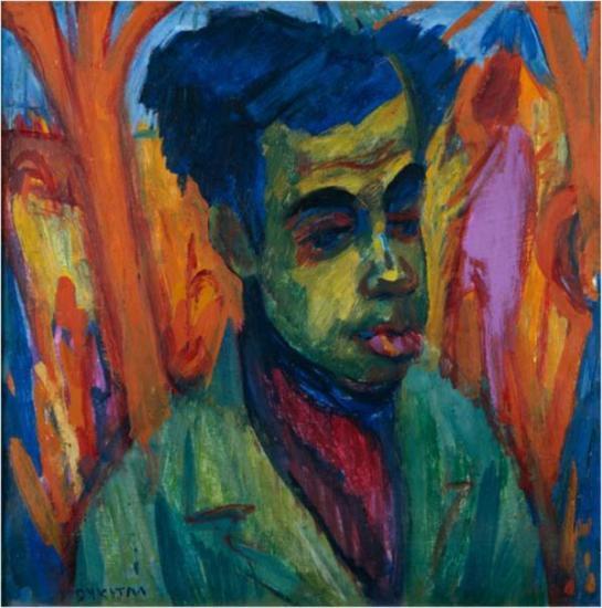 Johan Dijkstra, Portret van een man