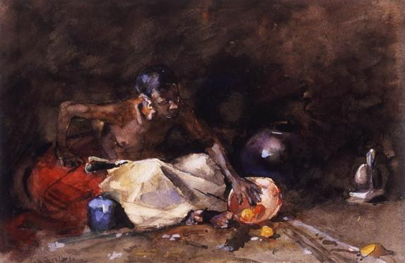 George Hendrik Breitner 1857 –1923 De Arabier ca. 1885