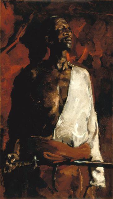 George Hendrik Breitner De Deurwachter/Eunuch ca. 1883 Olieverf op doek, 70 x 41 cm Stedelijk Museum, Amsterdam