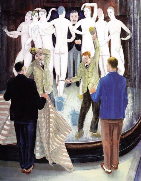 Harmen Meurs Schoonmaakkast Damesconfectie 1929