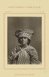 Portret van Wilhelminia van Eede, Photographie Française, 1883 BI-F-B0659-3 kleiner