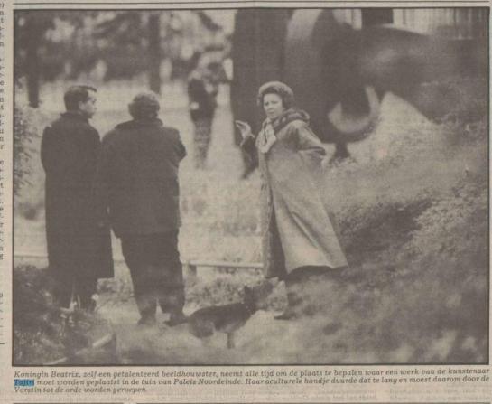 08-05-1991Nederlands Dagblad koningin Beatrix en Tajiri