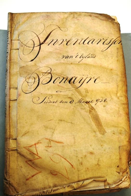 DSC_2704 Bonaire inventarisatieboek