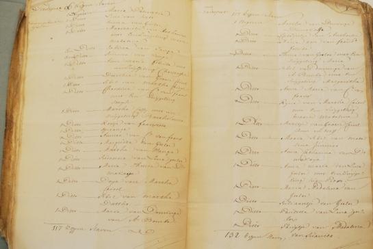 DSC_2705 namen van slaven in Bonaire inventarisatie