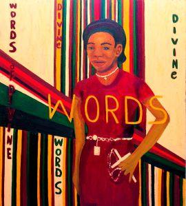 129 KE Iris Kensmil divine words dordrechts museum