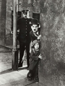 the kid Charlie Chaplin