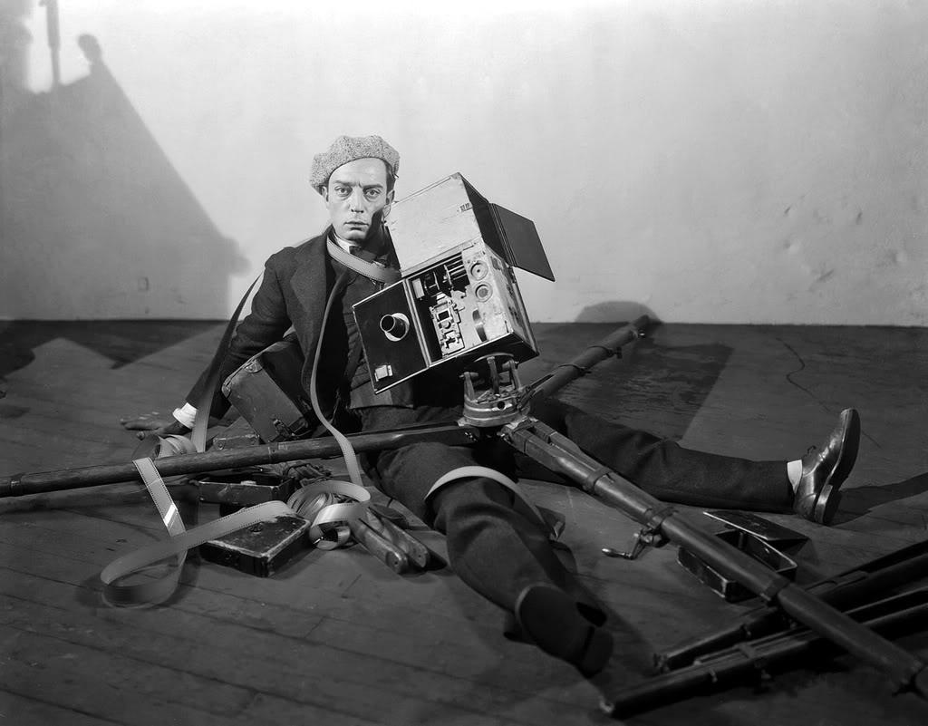 Buster Keaton Camerman